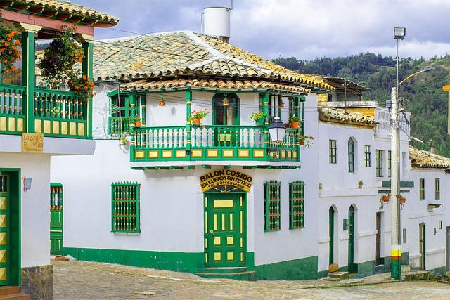 Casa traditionala din Columbia