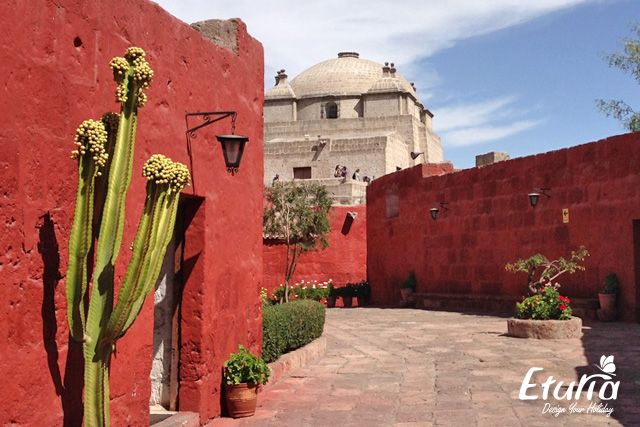 Manastirea Santa Catalina din Arequipa Peru img4