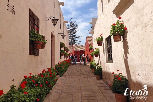 Manastirea Santa Catalina din Arequipa Peru img3