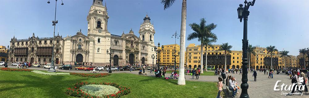 Plaza de Armas Peru