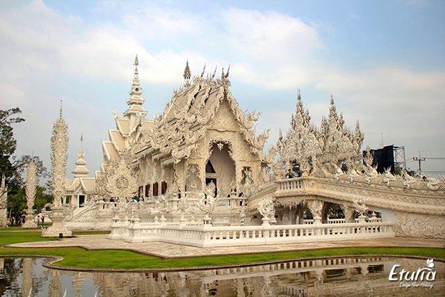 Thailanda Chiang Rai Templul Alb