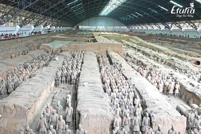 China XiAn Armata de teracota