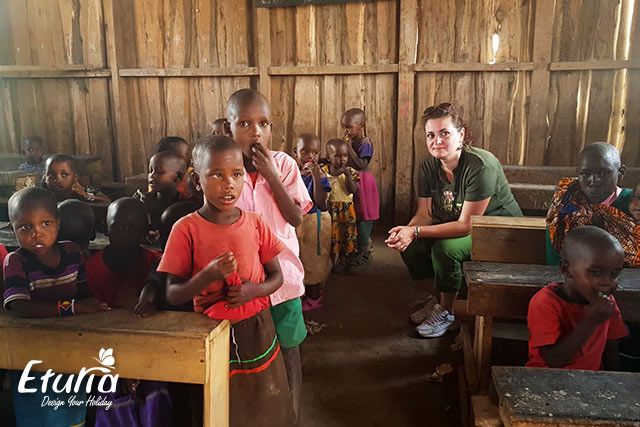 Scoala in Kenya 2