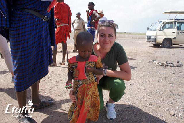 Copil maasai Kenya