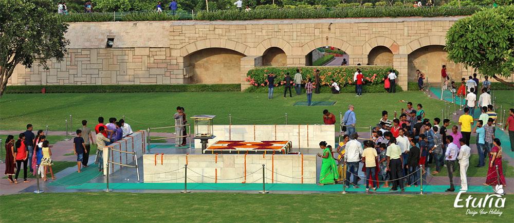 Raj Ghat Delhi India