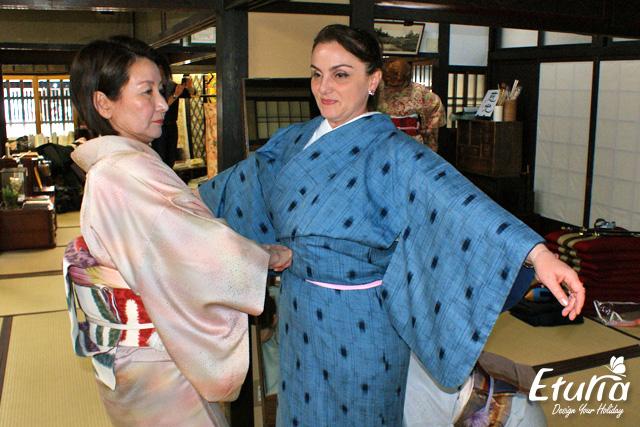Reguli - infasurarea kimonoului