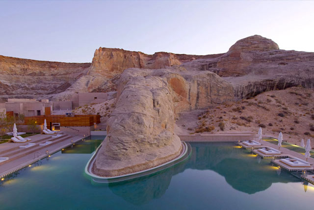 Piscina Amangiri Resort