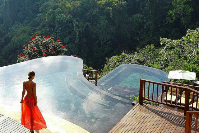 Piscina Hanging Gardens of Bali