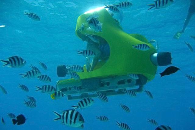 Plimbare cu submarinul Mauritius