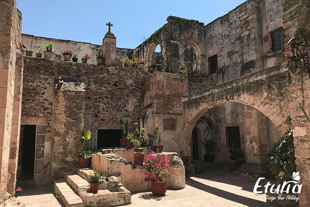 Templul Santa Cruz de los Milagros - Queretaro
