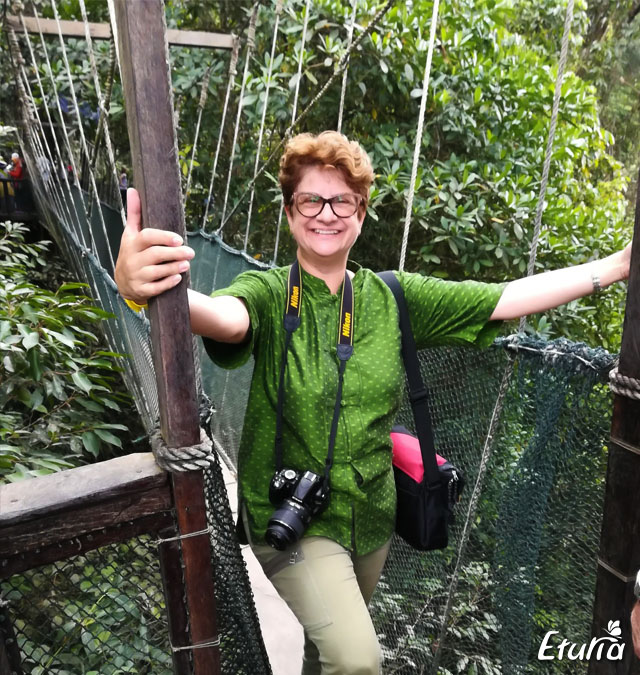 Gabriela in Borneo