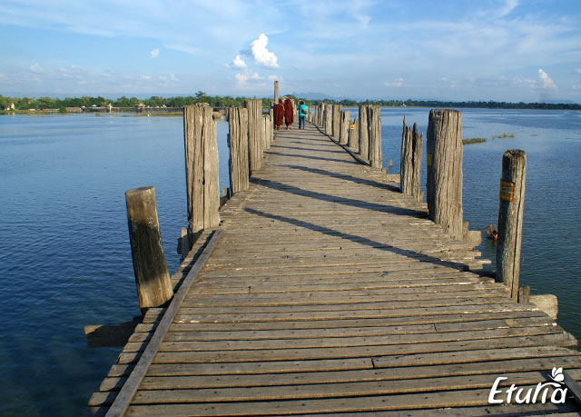Podul U Bein Amampura Myanmar