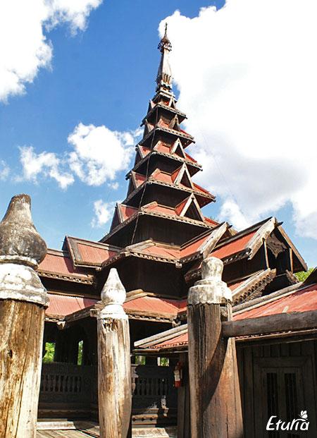 Manastirea Bagaya Myanmar