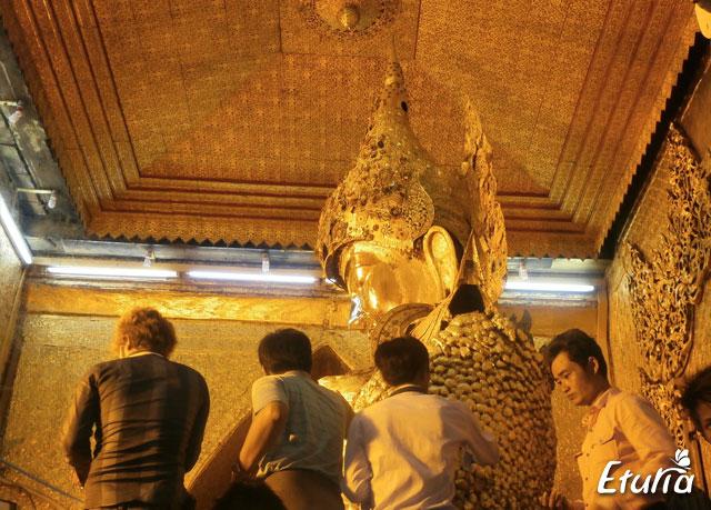 Templul Mahamuni Mandalay