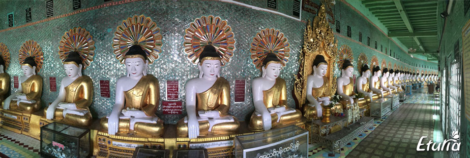 U Min Thone Sae Pagoda Myanmar