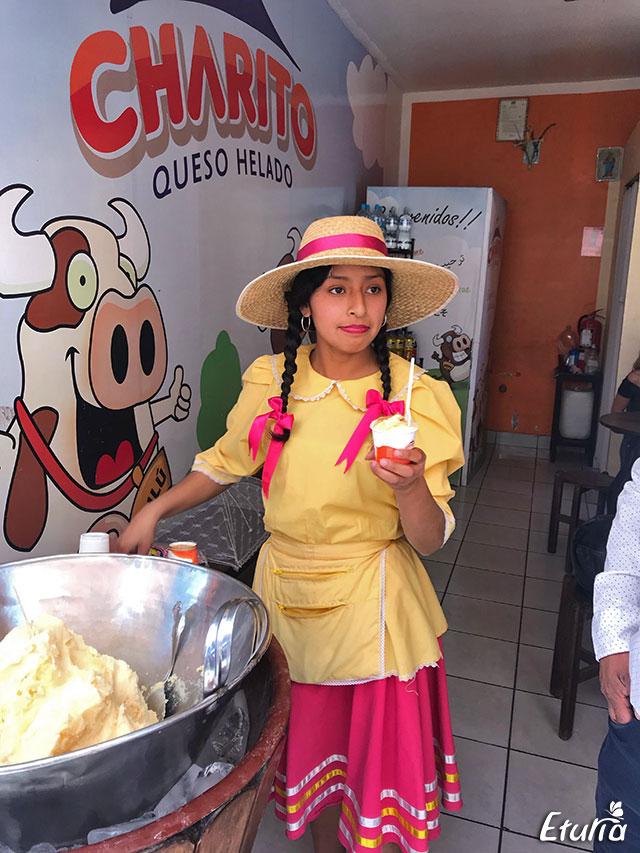 Taraba cu inghetata - Arequipa, Peru