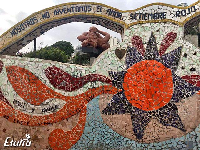 Parcul iubirii Lima, Peru
