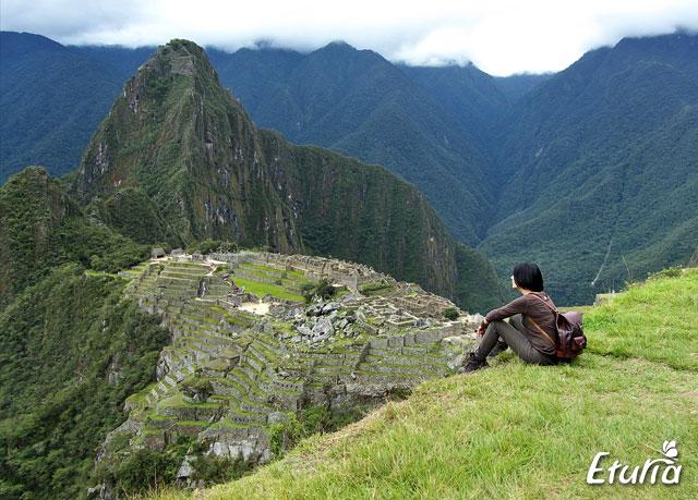 Sit Machu Picchu