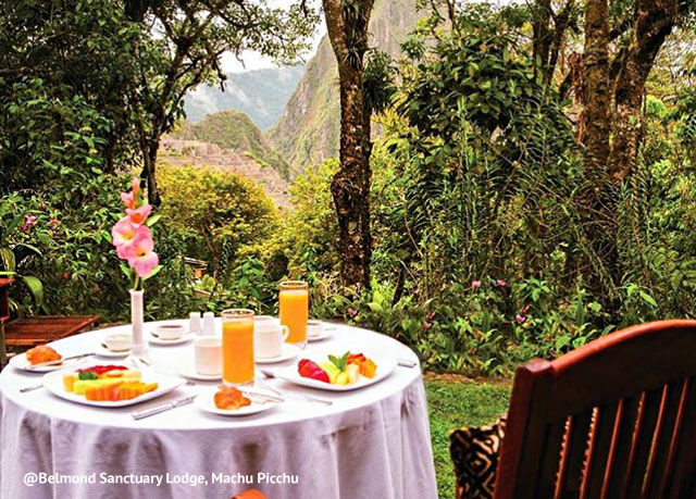Machu Picchu Sanctuary Lodge view