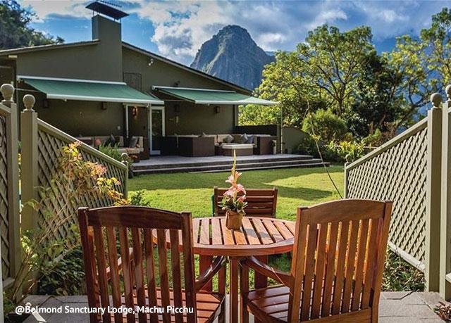 Machu Picchu Sanctuary Lodge priveliste
