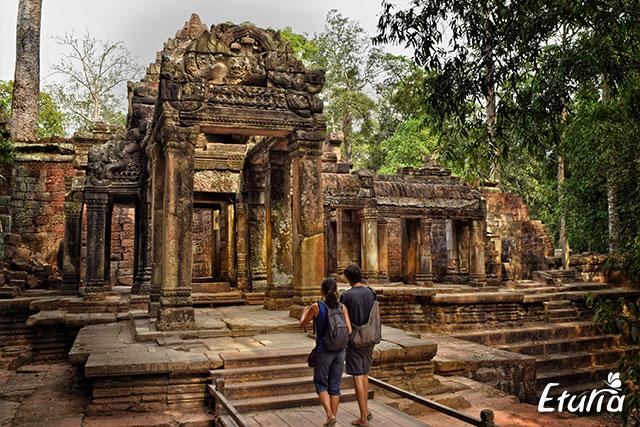 Templu in Cambodgia