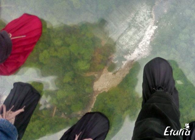 Podul de sticla, Zhangjiajie