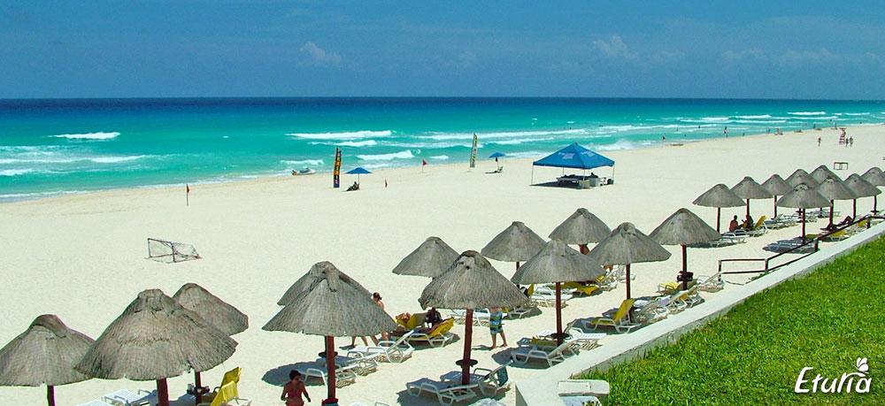 Plaja in Cancun