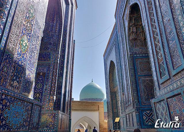 Peisaj Samarkand