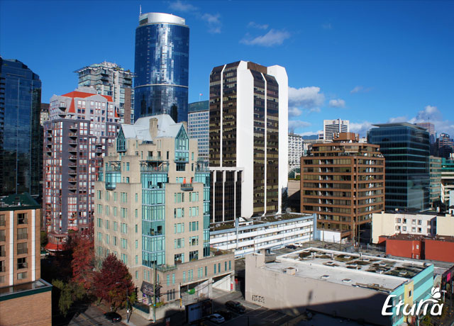 Peisaj oras Vancouver