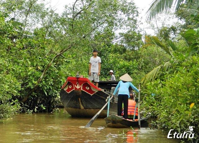 peisaj din Delta Mekong