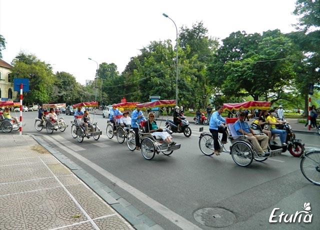 biciclisti Hanoi