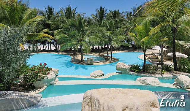 Diani Beach Swahili Beach Resort piscina