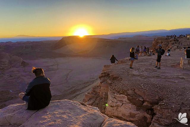 Desertul Atacama, Valea Lunii