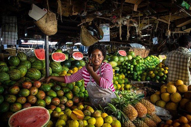 Piata din Nairobi, Kenya