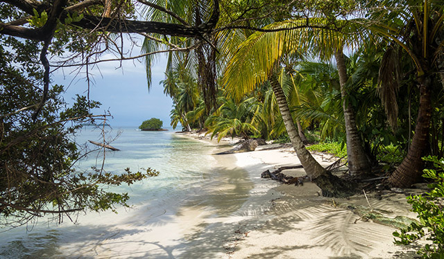 Una dintre multitudinea de plaje ascunse ale zonei