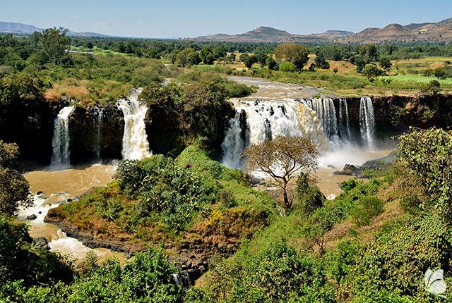 Cascadele Nilului Albastru