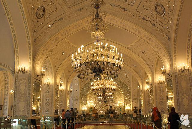 Palatul Golestan din Teheran