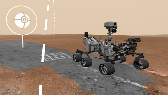 Hai pe Marte!