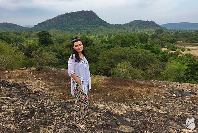 Priveliste verde la Sigiriya
