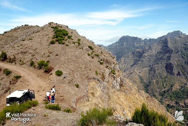 Tur cu jeepul, Madeira